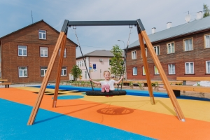 Valga City Center Public Playground, Estonia